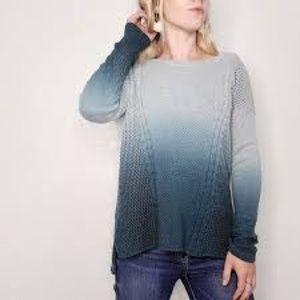 American Eagle Blue Ombré Sweater